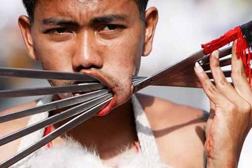 Шокирующие фото людей из солнечного Таиланда