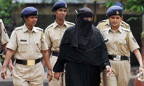 женщина террорист