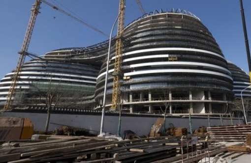Китайцы научились подделывать здания