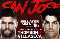 Бой Джош Томсон — Пабло Вилласека 5.12.2015: смотреть онлайн Bellator 147