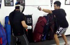 Чан Сунг Джанг взял пример с Конора и занялся фехтованием