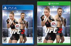 Конор МакГрегор присоединился к Ронде Роузи на обложке EA Sports UFC 2