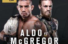 UFC 194: последний файт-кард шоу Макгрегор — Альдо 12.12.2015