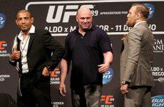 МакГрегор и Альдо готовы пожать друг другу руки после UFC 194