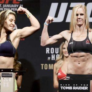 Бой Миша Тейт — Холли Холм 5.03.2016 на UFC 197