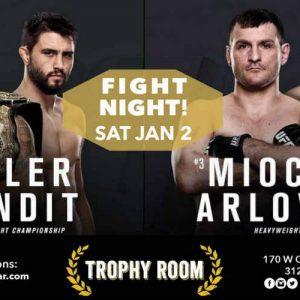 UFC 195: время начала, анонс, результаты боёв от 3 января 2016