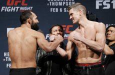 Бой Джони Хендрикс — Стивен Томпсон: смотреть онлайн видео трансляцию UFC Fight Night 82 сегодня, 6.02.2016
