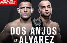 UFC Fight Night 90 файткард: полный список боёв и участников шоу 7.07.2016