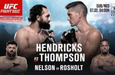 Церемония взвешивания UFC Fight Night 82: смотреть онлайн видео трансляцию сегодня, 5 февраля 2016