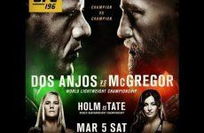 Дана Уайт: Конор был прав по поводу постера к UFC 196