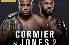 UFC 197 Кормье vs. Джонс 23.04.2016: официальный постер к шоу