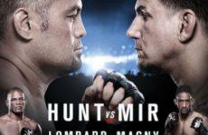 Главный кард UFC Fight Night 85 собран из шести боёв