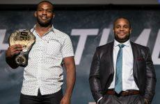 Даниэль Кормье и Джонс Джонс устроили шоу на пресс-конференции к UFC 196