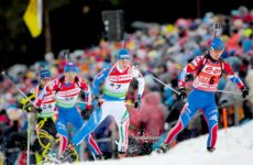 Биатлон масс-старт мужчины 29 марта 2016: смотреть онлайн видео трансляцию Чемпионата России сегодня
