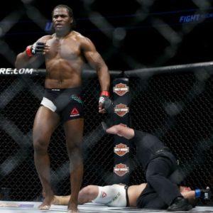 Франсис Нганну на UFC Fight Night 86 встретится с Кёртисом Блэйдсом