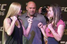 Бой Холли Холм — Миша Тейт: смотреть онлайн видео трансляцию UFC 196 сегодня, 5 марта 2016