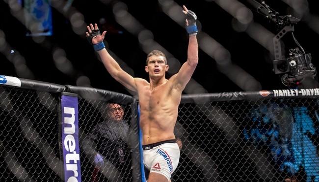 MMA: UFC Fight Night-Hendricks vs Thompson