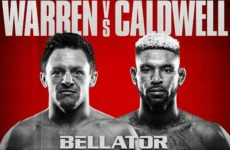 Бой Джо Уоррен — Даррион Колдуэлл 4.03.2016 Bellator 151: смотреть онлайн видео трансляцию сегодня