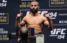 Бой Мехди Багдад — Джон Макдесси перенесён из UFC 199 в UFC Fight Night 90