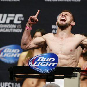 Али Багаутинов вернётся в восьмиугольник 18 июня на UFC Fight Night 89