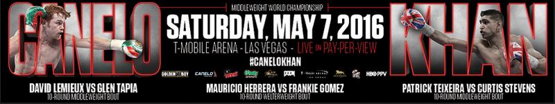 Расписание бокса: календарь боёв на выходные с 6 по 8 мая