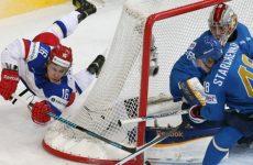 Россия — Казахстан хоккей 8.05.2016: смотреть онлайн видео трансляцию чемпионата мира сегодня