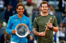 Рафаэль Надаль — Энди Маррей теннис 7.05.2016: смотреть онлайн видео трансляцию полуфинала турнира в Мадриде