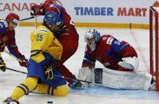 Хоккей Россия — Швеция: смотреть онлайн видео трансляцию чемпионата мира сегодня, 17 мая 2016