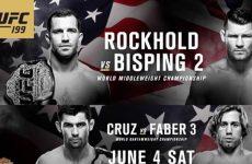 UFC 199 файткард: полный список боёв и участников шоу от 4.06.2016