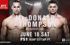UFC Fight Night 89 участники: все бойцы шоу 18.06.2016