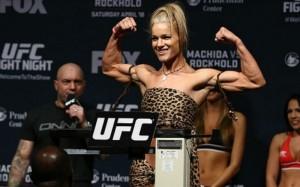Кортни Кейси и Фелис Херриг сразятся в рамках UFC 218
