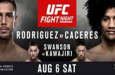 UFC Fight Night 92: время начала и результаты шоу от 6.08.2016