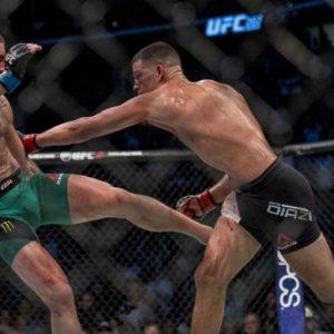 Результаты главного боя UFC 202 в цифрах