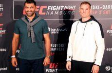 UFC Fight Night 93: время начала и результаты шоу в Гамбурге от 3.09.2016