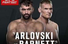 Арловский vs. Барнетт 3.09.2016: прямой эфир бесплатно, смотреть бой UFC Файт Найт 93 сегодня