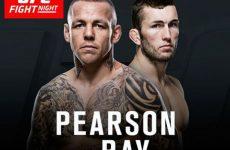 Стиви Рэй заменит Джеймса Краузе в бою с Россом Пирсоном на UFC Fight Night 99