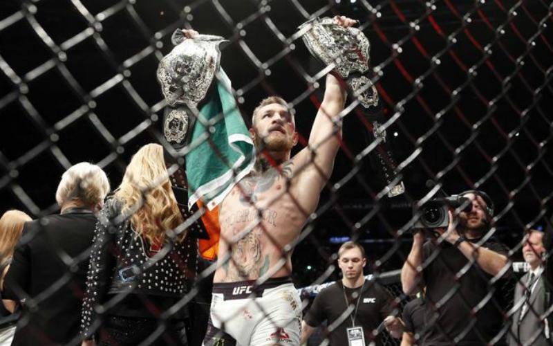 Чемпион полулёгкой и лёгкой весовых категорий UFC Конор МакГрегор