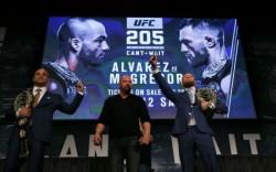 UFC 205 церемония взвешивания: смотреть онлайн видео трансляцию сегодня 11 ноября 2016
