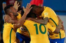 Пляжный футбол Бразилия — Иран: смотреть онлайн видео трансляцию сегодня 5 ноября 2016