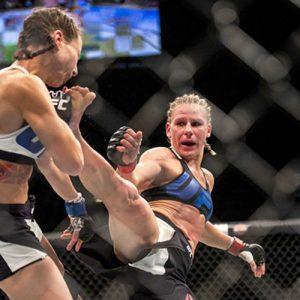 Бой Джастин Киш vs. Эшли Йодер — часть карда UFC Fight Night 102