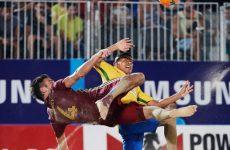 Россия — Таити пляжный футбол: смотреть онлайн видео трансляцию межконтинентального кубка сегодня 5.11.2016