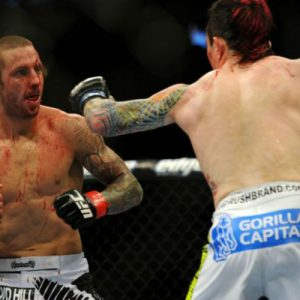 Бой Такея Мизугаки vs. Эдди Вайнленд — часть турнира UFC on FOX 22
