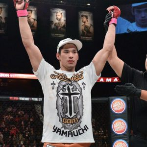 Бой Гоити Ямаучи vs. Валериу Мирцеа — часть карда Bellator 168