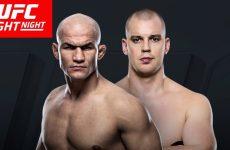 Бой Стефан Штруве vs. Джуниор Дос Сантос — мейн-ивент UFC Fight Night 105
