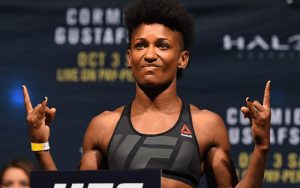 Бой Анджела Хилл vs. Джессика Андраде — часть карда UFC Fight Night 104