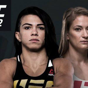Бой Каролина Ковалькевич vs. Клаудиа Гаделья — часть карда UFC 212