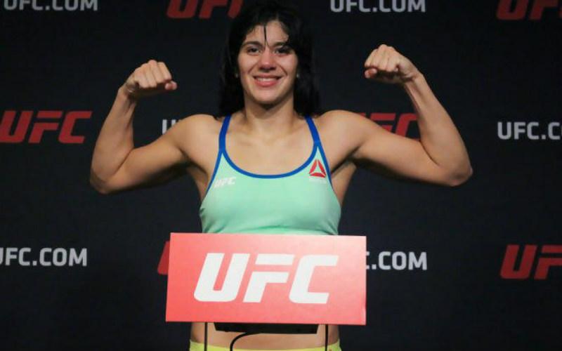 Женский легчайший вес: Кетлин Виейра, возраст — 25 лет