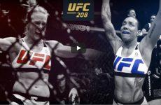 Видеопревю к шоу UFC 208
