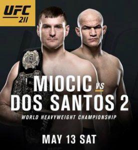 Официальный постер UFC 209: Вудли vs. Томпсон 2