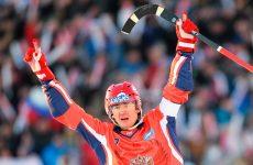 Россия — Швеция хоккей с мячом 1 февраля 2017: смотреть онлайн видео трансляцию чемпионата мира по бенди сегодня